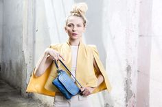 Lookbook S/S 2015 #mialuis #bag #turchese