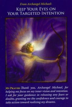 Archangel Michael has been guiding you along the path of your life's purpose... (click image to keep reading)