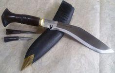 Gurkha Chainpure Khukuri Khukri Kukrri Kukri Knife 10.5 inch Wood Handle