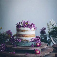 Naked Wedding Cakes are Good Enough to (Actually) Eat - Vogue