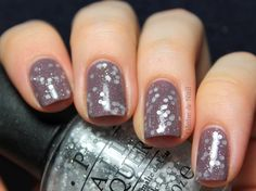 Essie Merino Cool, followed by one thick coat of OPI Pirouette My Whistle