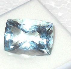 Aquamarine Cushion Cut  Untreated Unheated Gemstone 14 x 10mm   http://stores.ebay.com/JEWELRY-AND-GIFTS-BY-ALICE-AND-ANN