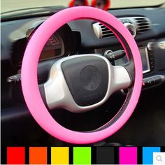 Soft Silicone Steering Wheel Cover Shell Skidproof Odorless Eco Friendly for Volvo S40 S60 S80 XC60 XC90 V40 V60 C30 XC70 V70