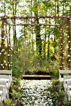 Wedding in the Woodland