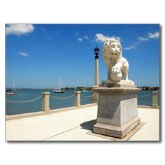 Bridge Of Lions Postcard