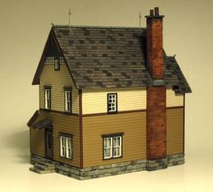 1151 Grove street side & back view. Photo and modeling by Greg Shinnie