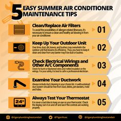 Here are five (5) simple air conditioner maintenance tips that keep your system from emergency breakdowns. ☑️ ☑️ ☑️ Heating Furnace, Eden Prairie, Air Filter, Minneapolis, Plumbing, Conditioner, The Unit, Simple, Easy