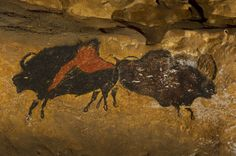 Caves of Lascaux | The Field Museum. Great Hall of the Bulls. Lascaux, France. Paleolithic Europe. 15,000–13,000 B.C.E. Rock painting.