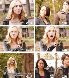 "S5 Ep11 ""500 Years of Solitude"" - Caroline, Bonnie and Jeremy"