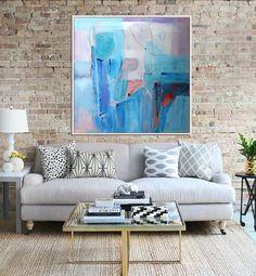 Original peinture peinture abstraite peinture sur toile par Artzaro