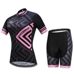 f3c2a4999 2018 Pink Shapes Short Set. Cycling JerseysWomen s Cycling JerseyCycling  BikesCycling ClothingBicycle ClothingCycling OutfitBike WearBicycle  WomenMtb Bike