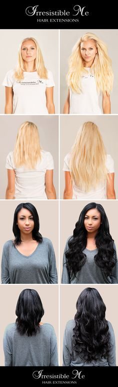 Add instant length and volume to your hair with irresistible me add instant length and volume to your hair with irresistible me clip in hair extensions pmusecretfo Image collections
