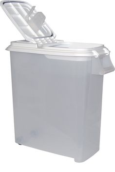 1363 Suncast 72 Quart Food Storage Bin Holds 50 lbs of dog food