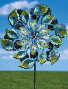 Solar Peacock Wind Spinner                                                                                                                                                                                 More