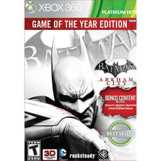 WB Games Xbox 360 - Batman: Arkham City Game of the Year