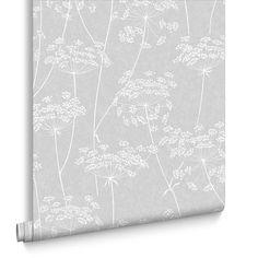 Aura Grey Wallpaper, , large