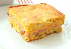 Cornbread Pan Sandwiches ~  I made these for dinner tonight and everyone loved them!  Perfect blend of sweet & savory. Hearty enough to be eaten alone but great with a bowl of soup.