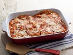 Alton Brown's Enchilada Lasagna