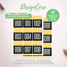 Lularoe Facebook Live Sale Bundle Reversed Mirrored Normal Number Tag, 000 999, Home Office Approved, Paisley,Instant Download, DCLSTB006