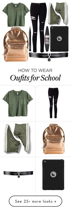 """""""School Day"""" by susanna-trad on Polyvore featuring Mi-Pac, Fallon, Miss Selfridge, Keds, Maybelline and NARS Cosmetics"""