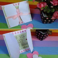 Cartãozinho de 2anos e 1mês :) . . . . . #inlove #criatividade #valentine #mylove #biasanttosz #mimo #criar #arteemfoco #love #romantic #romanticos #namoradacriativa #namorados #heart #amor #surpresa #surprise #supernamorada #EuQueFiz #diy #casal #card #cartão #scrap #papercraft #scrapbooking