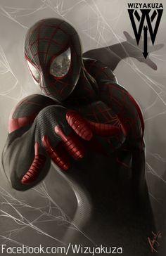 Spider-Man (millas Morales) - Marvel Comics - impresión Digital de 11 x 17