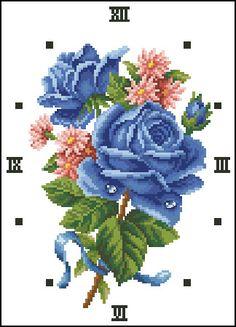#reloj #caudro en #puntodecruz para regalar a mamá                                                                                                                                                                                 Más