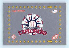 Bradenton (FL) Explorers (1989-90) Minor League Baseball, Logo Sticker, Explore, Stickers, Decals, Exploring