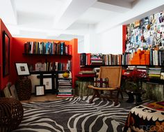 Carol Fertig Manhattan Apartment; Elle Decor. I am beyond obsessed with this room - well the entire apartment, really.