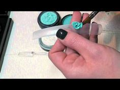 Nail Art - Fantasy 3D Flowers using Be Creative Arabella's - YouTube