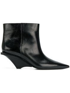 Shop Saint Laurent Blaze ankle boots