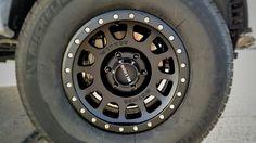 "Method NV 16"" Rims on 2015 Toyota Tacoma  Michelin LTX M/S 2's 265/70/16"