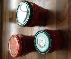Rezept Erdbeermarmelade mit Vanille von Katrin Disselkamp - Rezept der Kategorie Saucen/Dips/Brotaufstriche