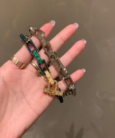 Louis Vuitton bracelet - 190520 - 1 - Designerbrands Louis Vuitton Bracelet, Louis Vuitton Jewelry, Designer Clothing Websites, Brass Metal, Fashion Jewelry, Bracelets, Silver, Gold, Leather