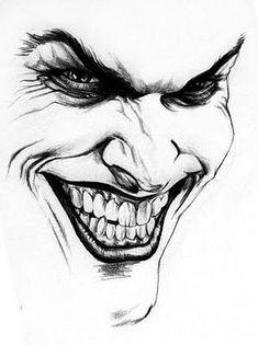 Joker sketch I did. Joker Sketch, Joker Drawings, Pencil Art Drawings, Tattoo Drawings, Drawing Sketches, Art Du Joker, Joker Joker, Joker Comic, Joker Wallpapers