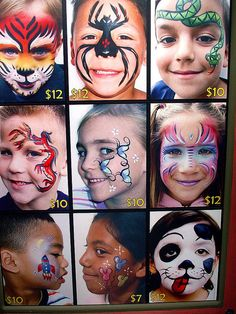 Face painting examples are very useful in the art of face painting. One of the greatest things about face painting examples, is that there are many reference Face Painting Designs, Paint Designs, Body Painting, Horror Makeup, Scary Makeup, Halloween Makeup For Kids, Halloween Costumes, Halloween Zombie, Zombie Makeup Tutorials