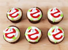 Made Ghostbuster's Cupcakes on Nerdy Nummies in honor of the movie's 30th Anniversary! ♥