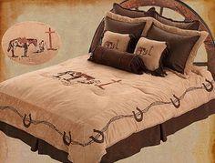 Praying Cowboy Comforter Sets