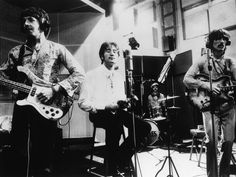 """In 1968, the first live satellite broadcast of anything worldwide took place, and guess who was on? It was The Beatles performing their latest single, """"All You Need Is Love."""" The two-hour program was broadcast to 26 countries to over 400 million people."""