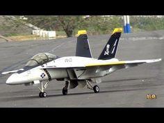 RC Turbine Jet HAWK & F-18 Hornet. - YouTube
