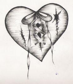 Drawings broken heart drawing of a heartbreak heart arm drawings Broken Heart Drawings, Broken Heart Tattoo, Heart Broken, Cool Heart Drawings, Sad Drawings, Art Drawings Sketches, Trendy Tattoos, Cool Tattoos, Heartbreak Tattoo