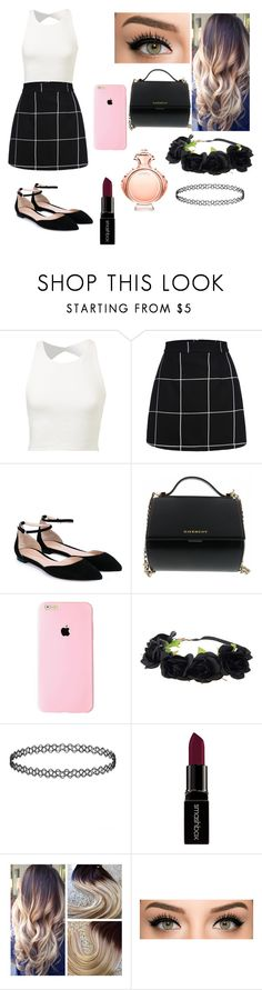 """Untitled #125"" by auriannarochelle ❤ liked on Polyvore featuring Gianvito Rossi, Givenchy, Smashbox, Paco Rabanne, women's clothing, women's fashion, women, female, woman and misses"