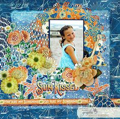 Sun Kissed by Graphic 45 Launch Party! Now Available Layout by Maggi Harding