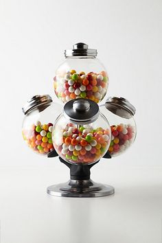 Argentinean Candy Jar from Anthropologie. Shop more products from Anthropologie on Wanelo. Candy Buffet, Candy Jars, Candy Bowl, Candy Table, Candy Dishes, Kitchen Items, Kitchen Gadgets, Kitchen Stuff, Kitchen Tools