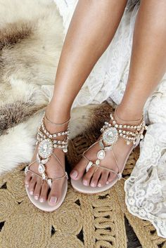 Flat wedding shoes, Flat sandals, comfortable wedding shoes for bride – Forever Soles