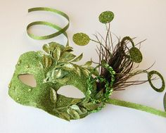 Fun mardi gras mask