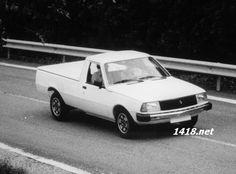 Prototype development pickup Renault 18