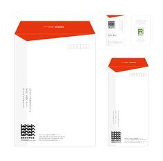 BAUHAUS 名刺・封筒 Brand Identity Design, Branding Design, Logo Design, Graphic Design, Ci Design, Print Design, Business Stationary, Notes Design, Envelope Design