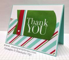 Another Thank You Photopolymer, Stampin' Up!, Brian King