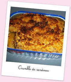 Cuisine et cetera !: Crumble de sardines de chez Brèves de gourmandise